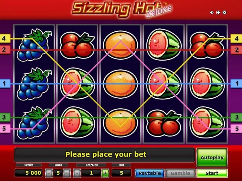 Slot Games Online Sizzling Hot