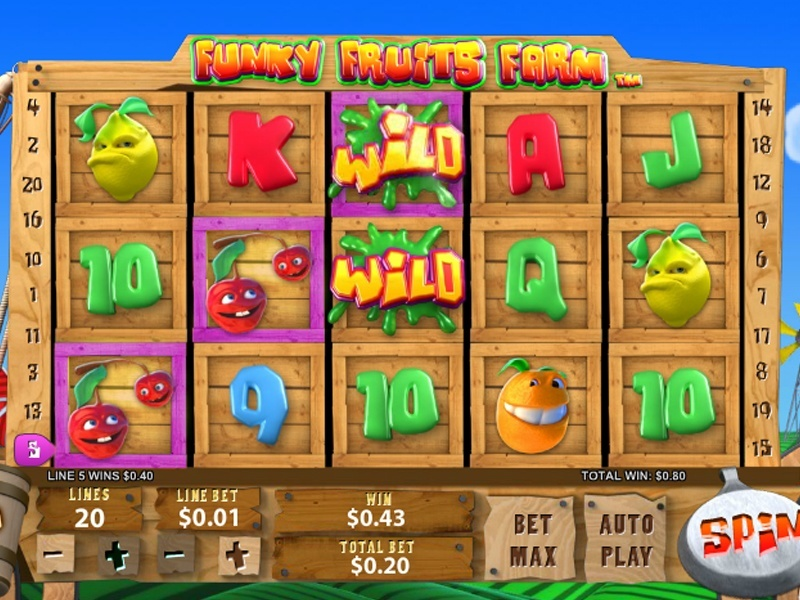 Spiele Funky Fruits - Video Slots Online