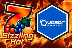 Sizzling Hot Slot at Quasar Gaming Casino